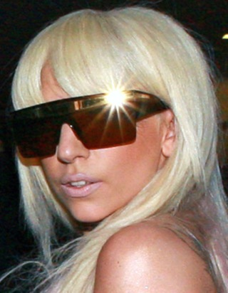 Lady GaGa > London UK > Lady GaGa Sunglasses