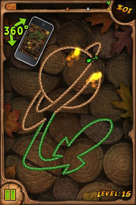 Burn the Rope para iPhone