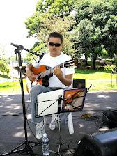 Show na praça Sérgio Pacheco