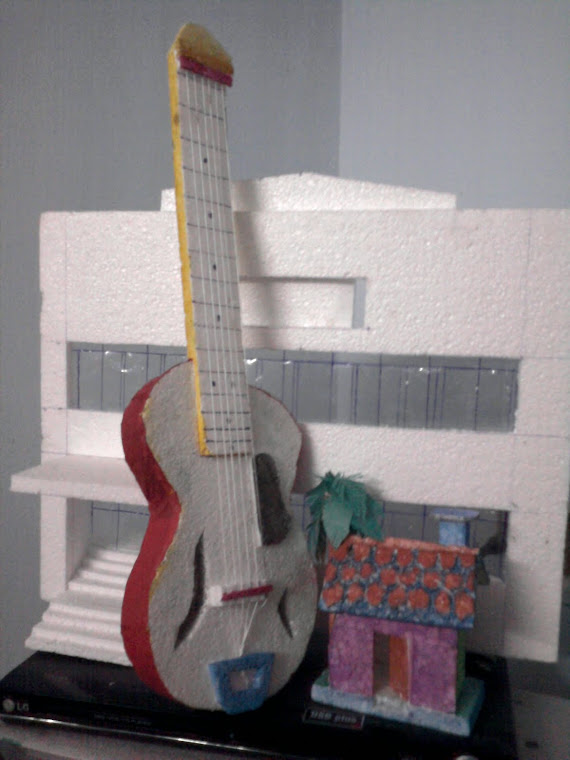 thermocol guitar