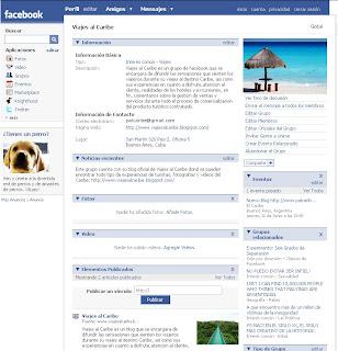 Grupo de facebook Palcaribe