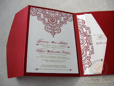 Jeannine and Fal 39s Hindu Christian Wedding Invitation