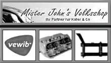Mister John´s Volksshop
