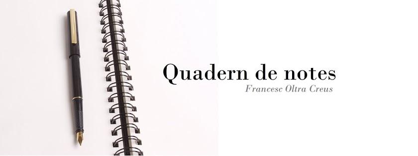 Quadern de notes