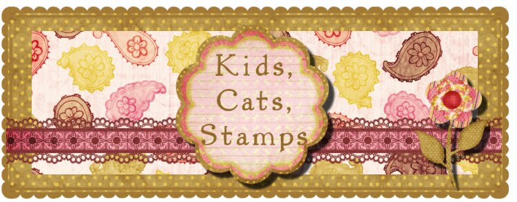 Kids, Cats, Stamps