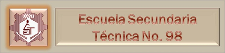 ESCUELA SECUNDARIA TÉCNICA No. 98