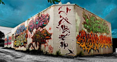 Beautiful Austin's Graffiti Art Seen On www.coolpicturegallery.net