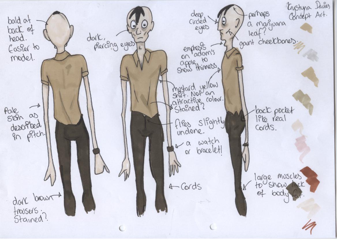 Character Design And Development : Hey negrita d character design and development