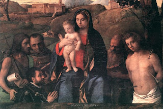 Madonna with Saints and Donors