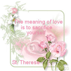 St. Therese Quote
