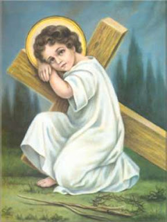 Child Jesus with Cross