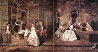 L'Enseigne de Gersaint Watteau