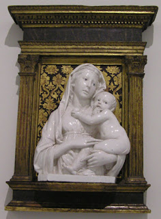 L Della Robbia Virgin and Child