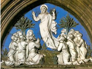 L Della Robbia the Ascension