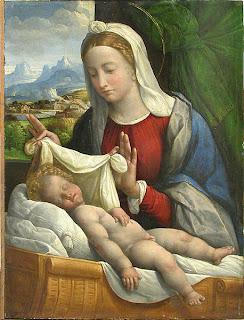 Benvenuto Tisi-Garofalo Baby Jesus Sleeping