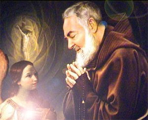 Padre Pio and the Guardian Angel Guido Reni