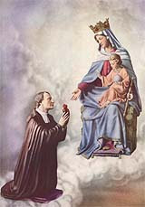 Our Lady and St. Louis de Montfort