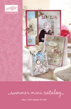 Stampin' Up Latest Summer Mini Catalogue