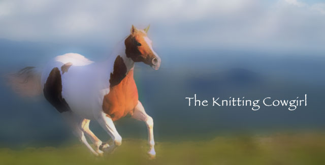 The Knitting Cow-girl