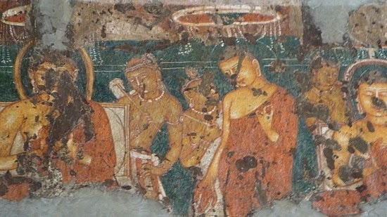 Famous Wall Paintings Of Ajanta And Ellora