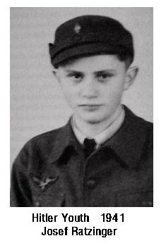 pope benedict xvi pope nazi youth