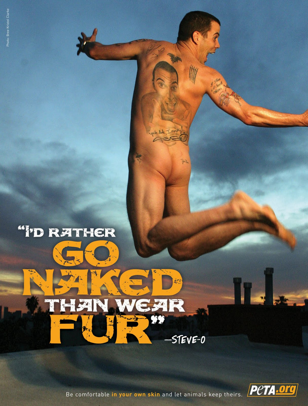 PETA%252Bnaked%252Bfur%252Bad%252BSteve O No to mention the cum that had been able to leak through his bikini briefs ...