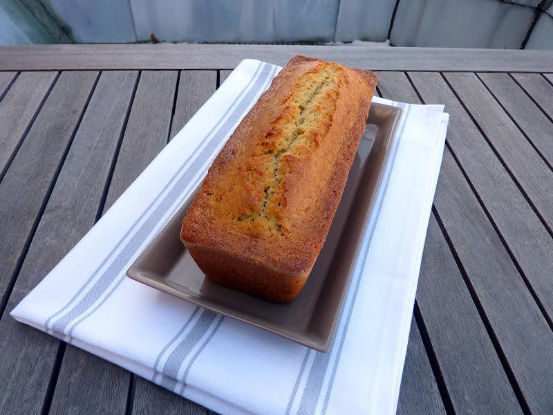 Mon cake banane et noix ou banana bread, trop bon!