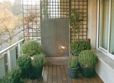 Planificaci n de espacios verdes mayo 2010 - Fuentes para terrazas ...