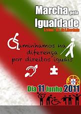 1ª Marcha Nacional Pela Igualdade 11 de Junho em Lisboa