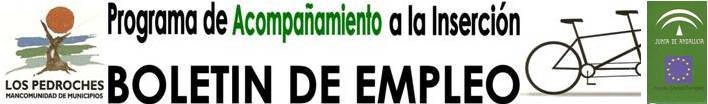 BOLETIN DE EMPLEO - Mancomunidad de Municipios Los Pedroches