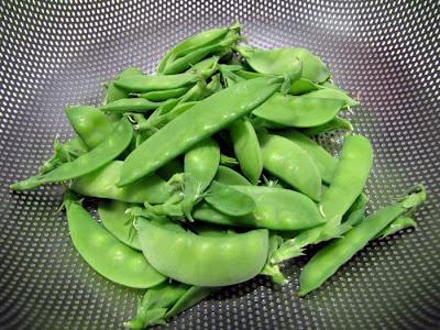 Rooftop Garden Snow Peas