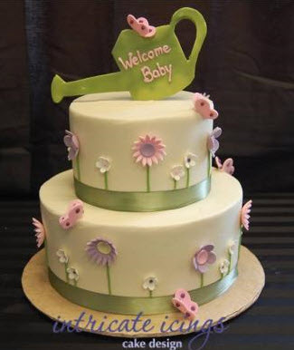 baby shower cake of the month