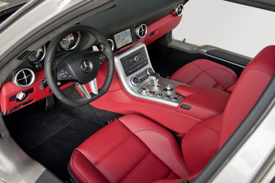 Mercedes Benz Sls Amg Interior. Mercedes-Benz SLS AMG Gullwing