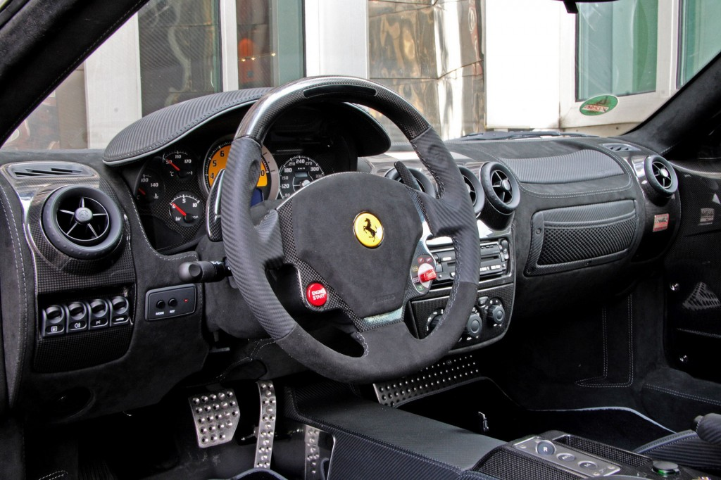 Ferrari F430 Scuderia Side