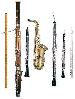 All Your Music Needs: The Family of Wind Instruments: From ...