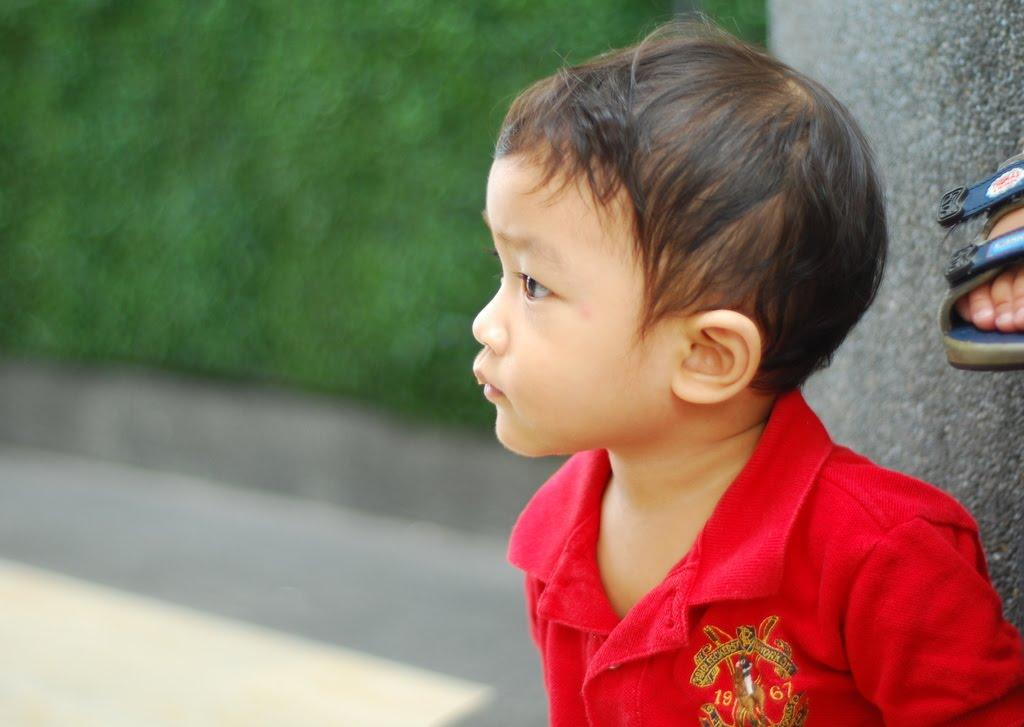 i love u baby boy. My cute lil oy.. love u baby~