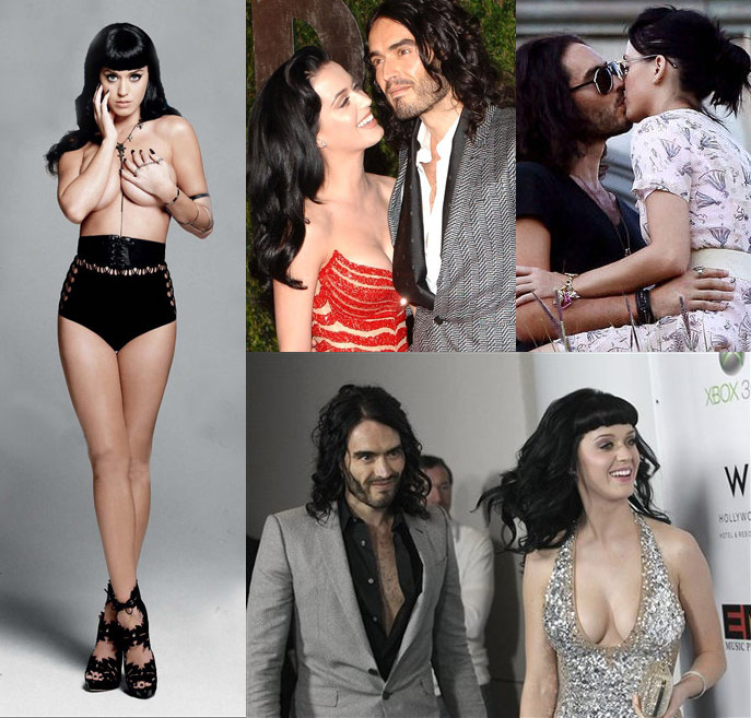 ... comedian/actor Russell Brand and pop singing sensation Katy Perry is ...