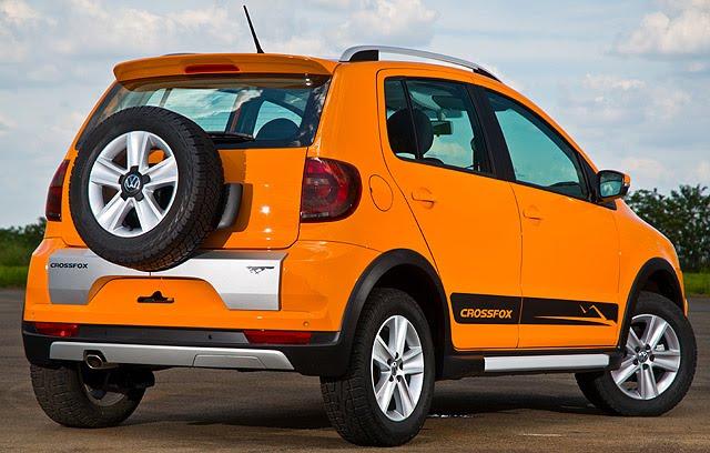 Autos Posts: Conheça o novo Volkswagen CrossFox Modelo ...