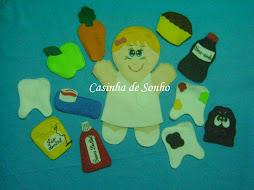 Fantoche Higiene bucal - Dentista
