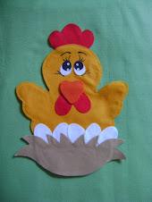 Fantoche música: A galinha magricela