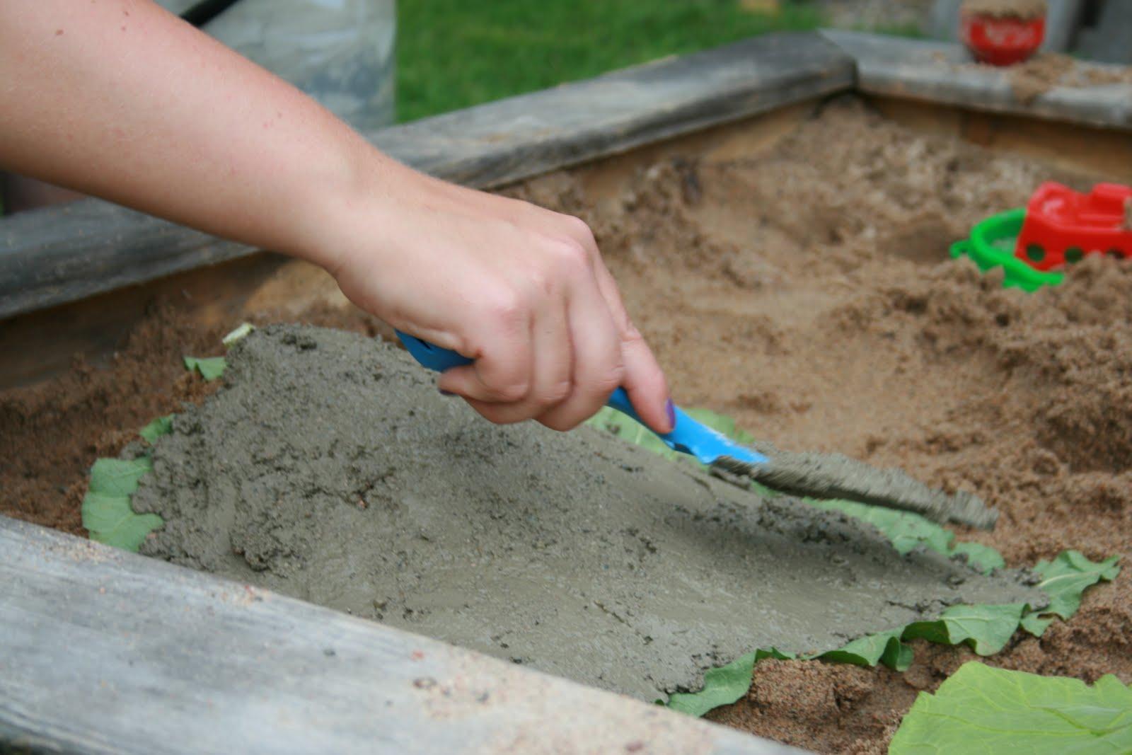 Stories of Saralill: Gjuta betong!