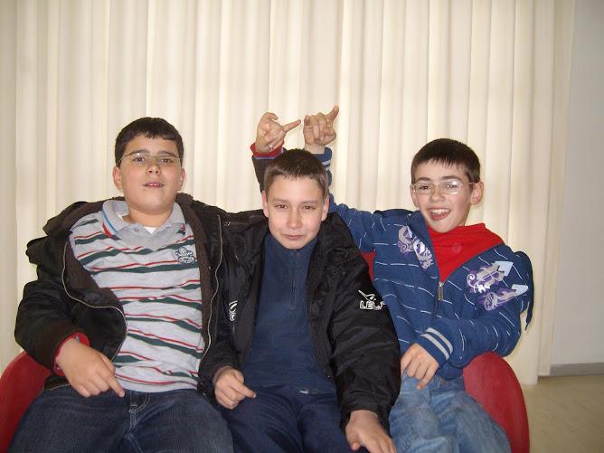 Andrés,rubén e o outro andrés
