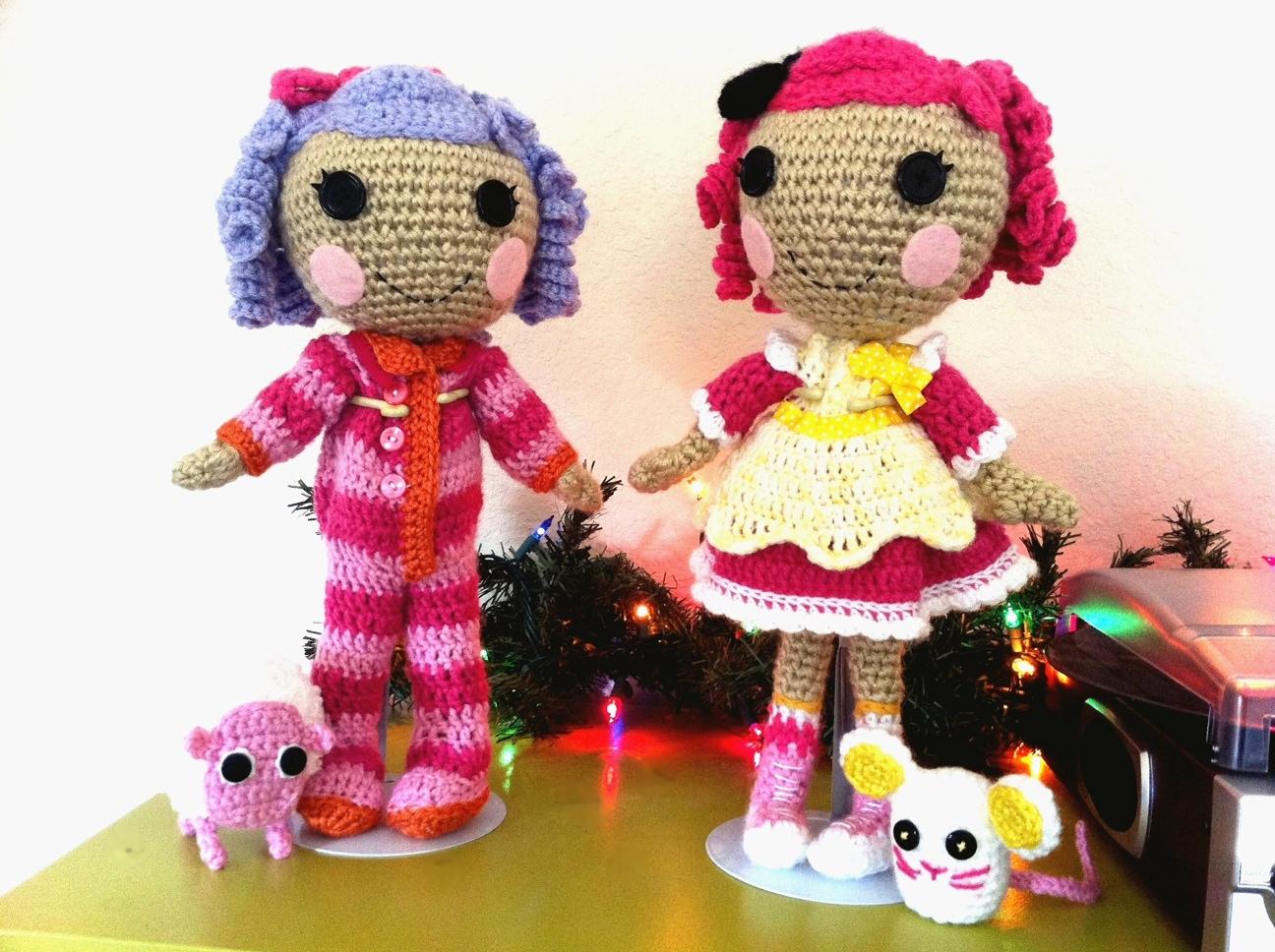 Free Lalaloopsy Crochet Doll Pattern