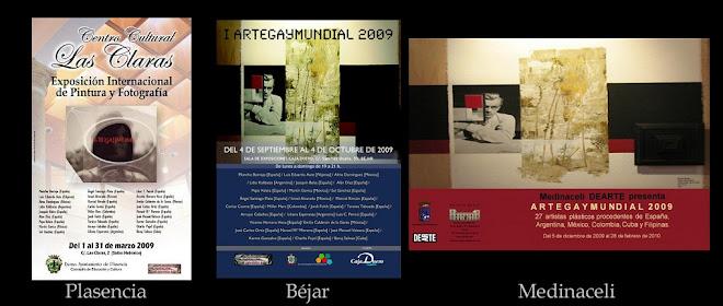 """Exposición Itinerante """"ArteGayMundial"""" 2009"""