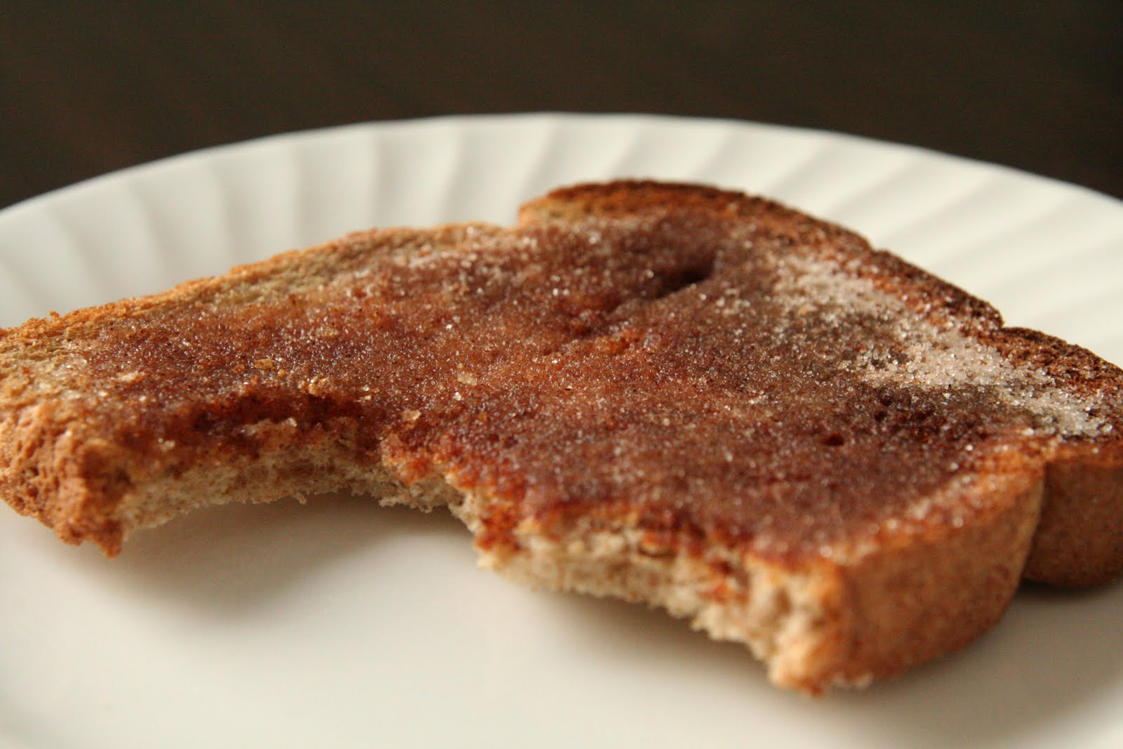 Memoir of a Missus: cinnamon sugar toast