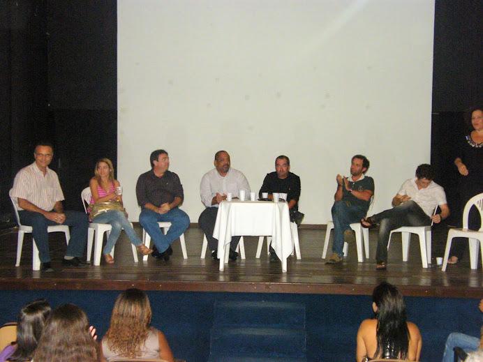 BATE PAPO DA CAP ESCOLA DE TV EM SALVADOR 22/03/10 NO TEATRO CABALLEROS DE SANTIAGO
