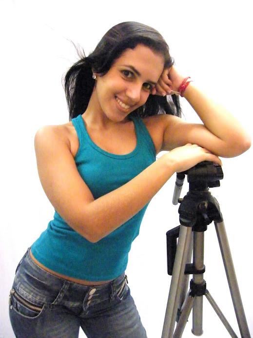 PAULINHA ARY, mais uma aluna da CAP escola de TV na TVVVVVVVV