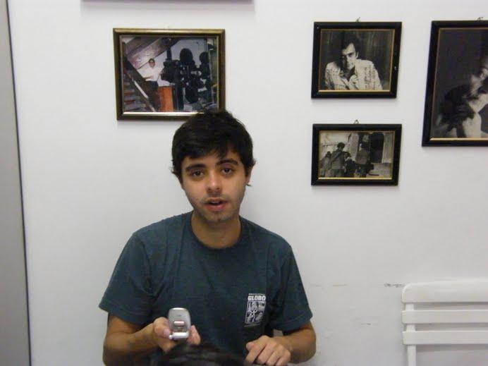 Produtor do Rio de Janeiro vem em busca de grandes talentos e visita a CAP Escola de Tv em Salvador