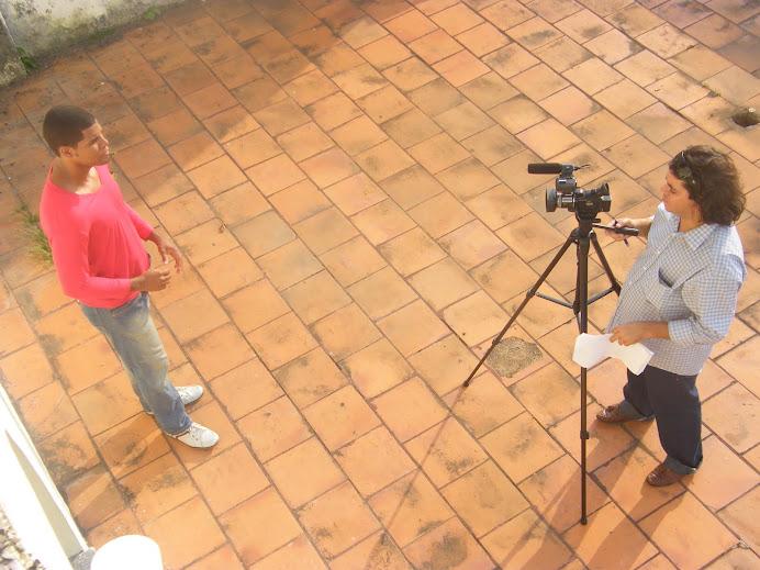Mais gravação sobre o caruru, no programete Toques da Bahia!