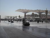 Halaman Masjid Nabawi